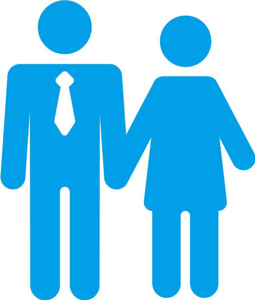 blue-couple