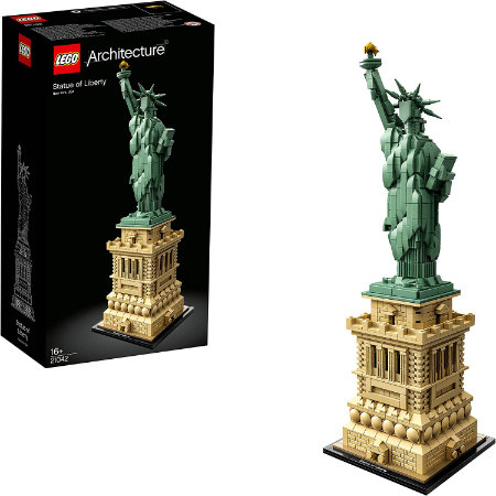 Lego Architecture Statue of Liberty Building Kit —Great for travellers