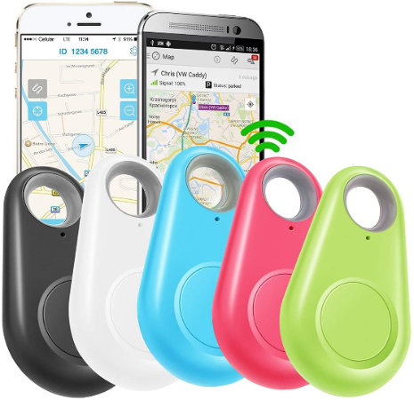 GBD GPS Tracker Smart Finder Locator — Up to 75 ft object tracking range