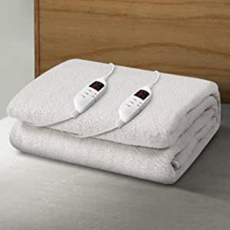 Giselle Bedding Fleecy Heated Electric Blanket